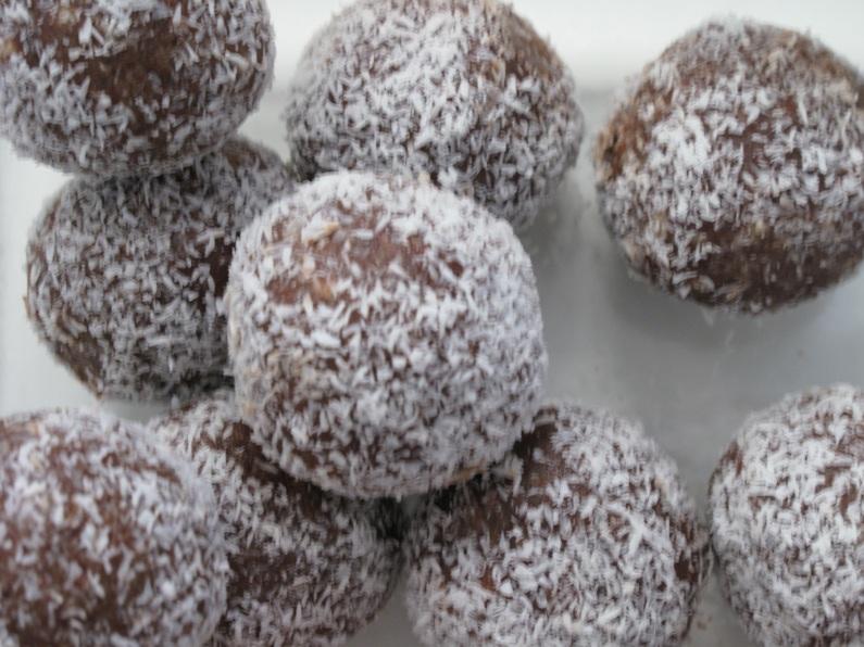 Almond Cocoa Truffles
