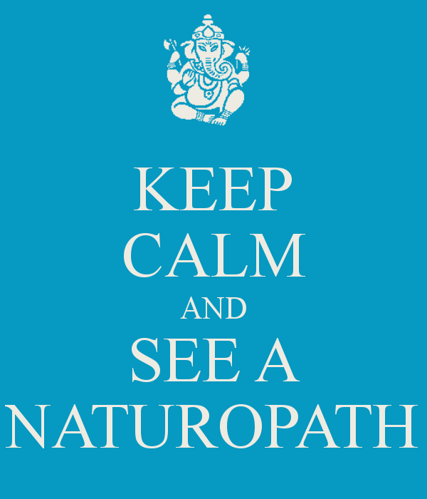Keep Calm And See A Naturopath